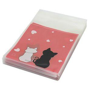 100x plastique sachet pochette sacs pour bonbons biscuits chocolat stockage achat vente. Black Bedroom Furniture Sets. Home Design Ideas