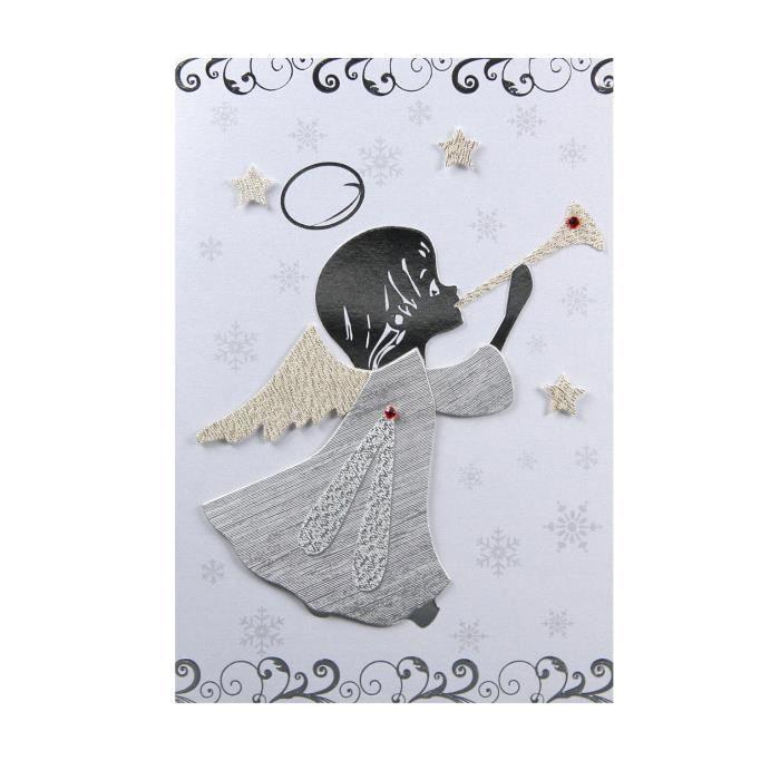 carte de voeux carte noel nouvel an ange achat vente carte postale carte de voeux carte. Black Bedroom Furniture Sets. Home Design Ideas