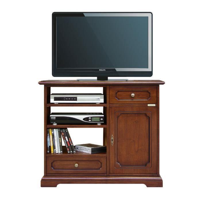 meuble tv classique achat vente meuble tv meuble tv classique cdiscount. Black Bedroom Furniture Sets. Home Design Ideas