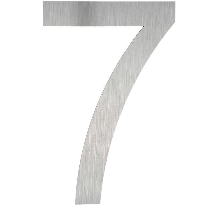 7 num ro de maison num ro de rue num ro de porte plaque chiffre signal tique ext rieure 7. Black Bedroom Furniture Sets. Home Design Ideas