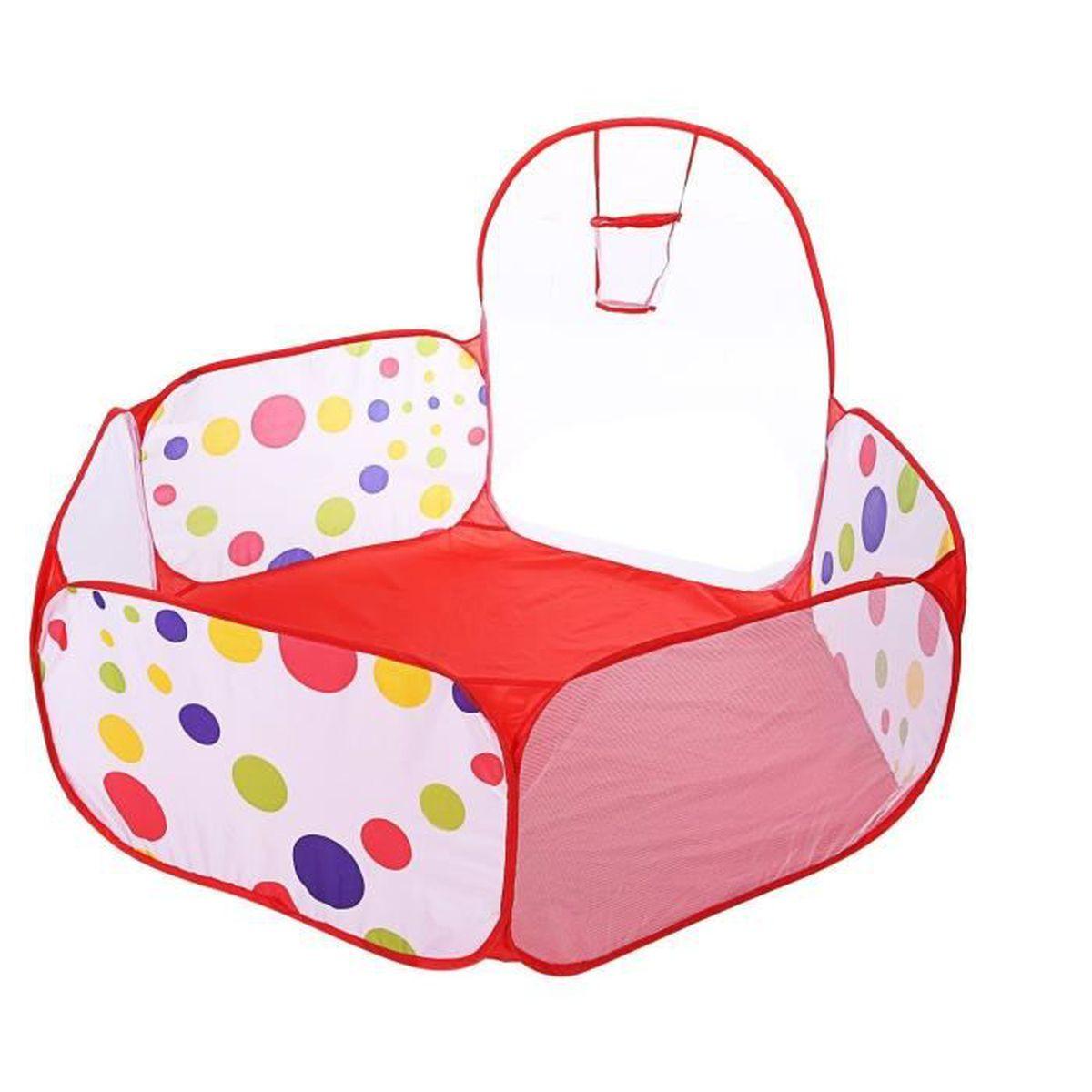 Hexagon 1 2 m tres aire de jeu piscine balles pour b b for Piscine de balle pour bebe