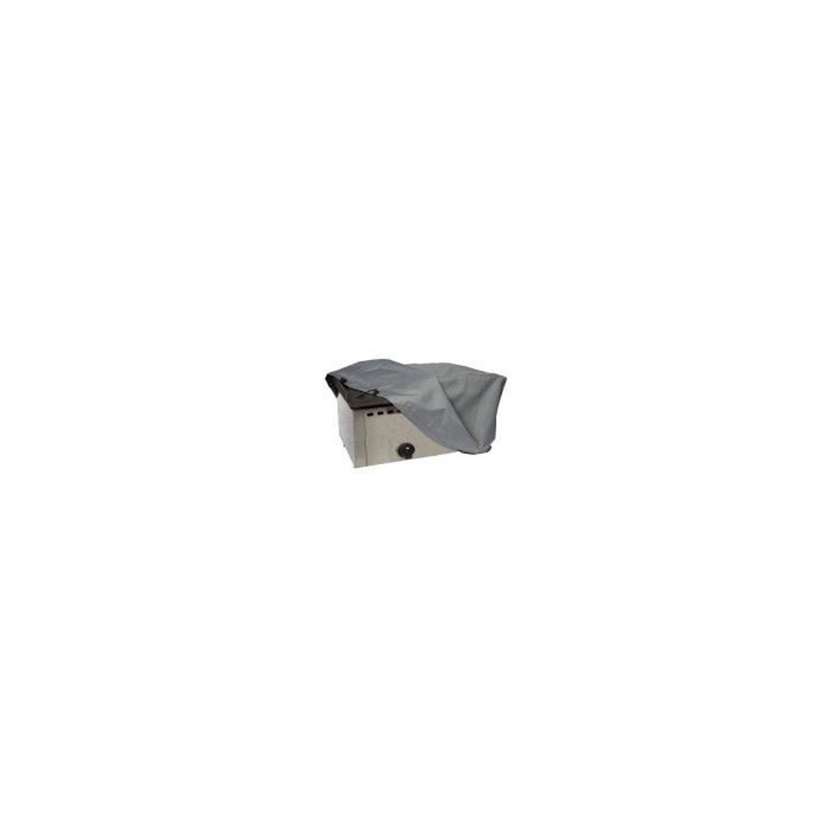 Housse de protection pour plancha 60 x 44 x 40 cm gris for Housse de protection plancha