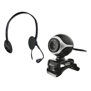 Trust pack webcam + casque micro EXIS CHAT