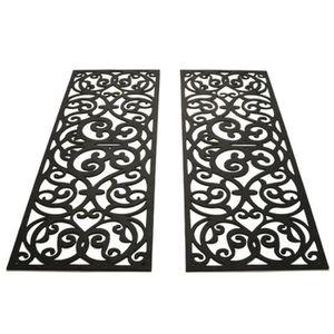 les 2 tapis de marche ext rieur antid rapant anti glisse achat vente tapis cdiscount. Black Bedroom Furniture Sets. Home Design Ideas