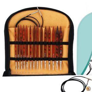 Kit d'aiguilles à tricoter interchangeables Cub… - Achat / Vente aiguille a tricoter Kit d ...