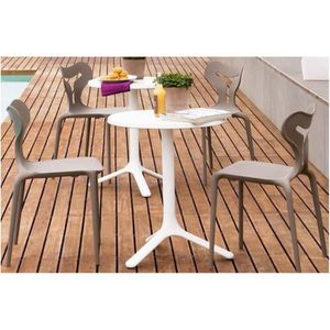 Table a manger petite largeur achat vente table a for Petite table ronde blanche