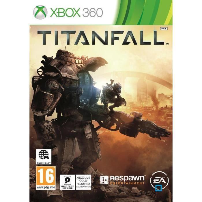 JEUX XBOX 360 Titanfall Jeu Xbox 360
