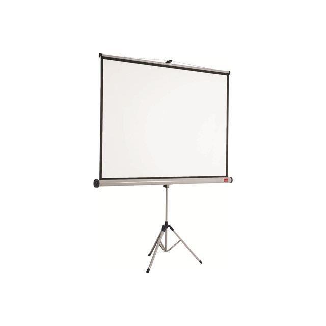 nobo ecran de projection sur tr pied 4 3 mat achat vente ecran de projection ecran. Black Bedroom Furniture Sets. Home Design Ideas