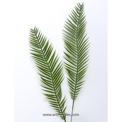Feuille de palmier artificiel h 39 cm int ext achat for Feuille palmier artificiel
