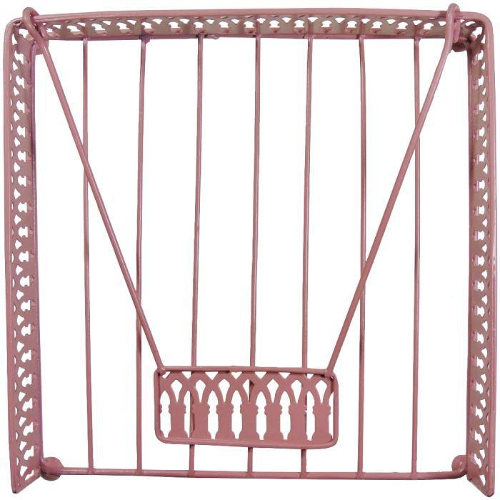 Porte serviette de table fer forg design loft achat for Porte serviettes de table