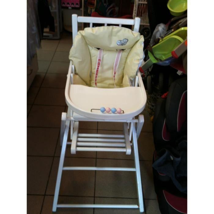 Chaise haute pliante combelle coussin achat vente - Patron coussin chaise haute combelle ...