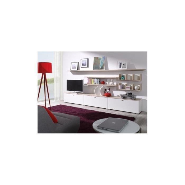 Justhome living 3 ensemble de meubles de salon sonoma for Ensemble de salon complet