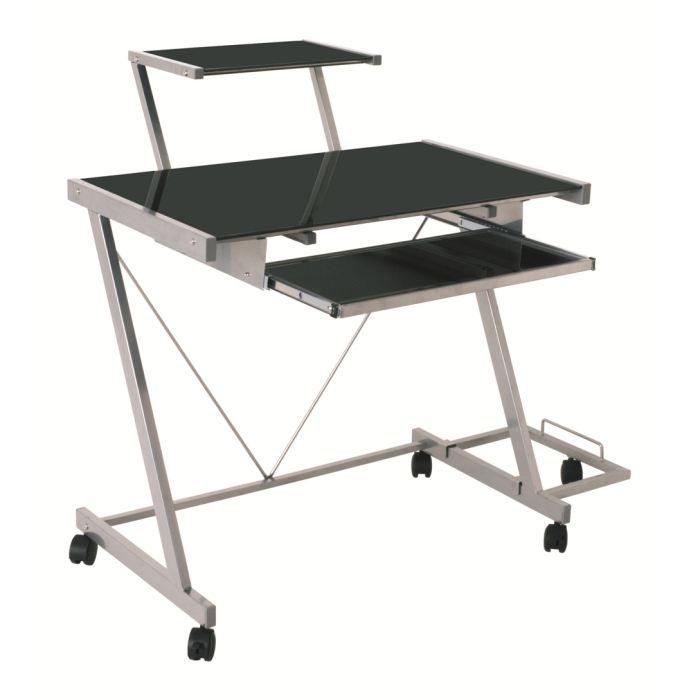 chariot pour ordinateur swithome nerrow alu noir achat vente caisson de bureau chariot pour. Black Bedroom Furniture Sets. Home Design Ideas