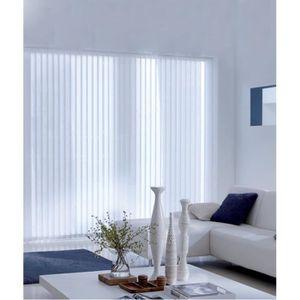rideaux a lamelles achat vente rideaux a lamelles pas cher cdiscount. Black Bedroom Furniture Sets. Home Design Ideas