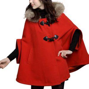 manteau cape femme achat vente manteau cape femme pas. Black Bedroom Furniture Sets. Home Design Ideas