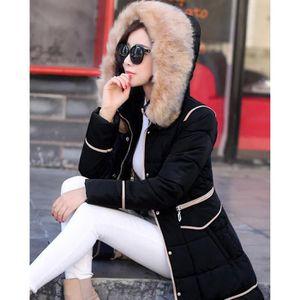 MANTEAU - CABAN SIMPLE FLAVOR Manteau femme grande taille fourr...