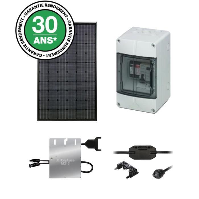 kit solaire autoconsommation 250wc monocristallin film noir solarworld achat vente kit. Black Bedroom Furniture Sets. Home Design Ideas