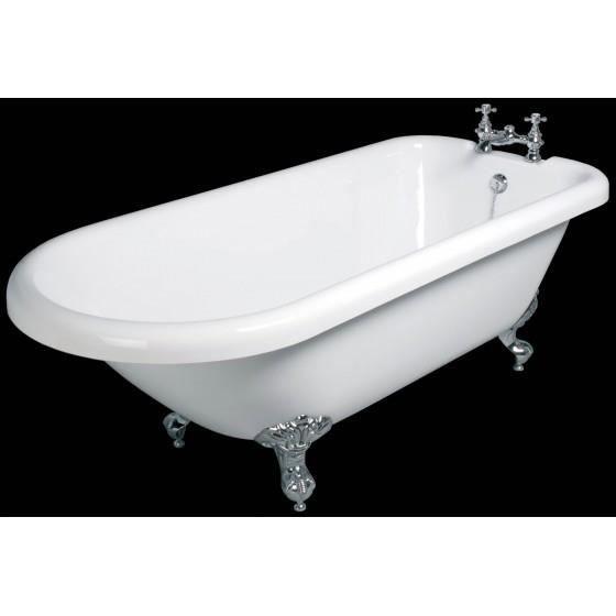 Baignoire il t r tro 1 acrylique de 177 cm achat vente baignoire kit ba - Baignoire retro acrylique ...