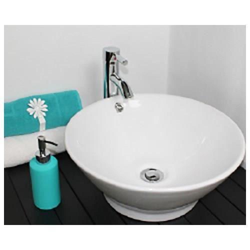 Vasque amalfi poser 42 cm achat vente lavabo vasque vasque amalfi poser 42 cm - Vasque a poser occasion ...