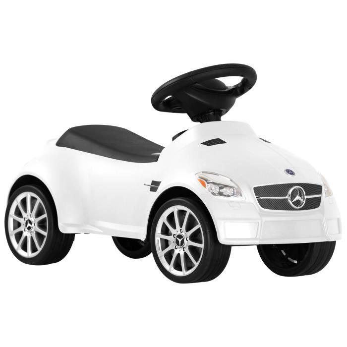porteur voiture mercedes slk 55 amg sous licence enfant rouge jaune blanc achat vente. Black Bedroom Furniture Sets. Home Design Ideas