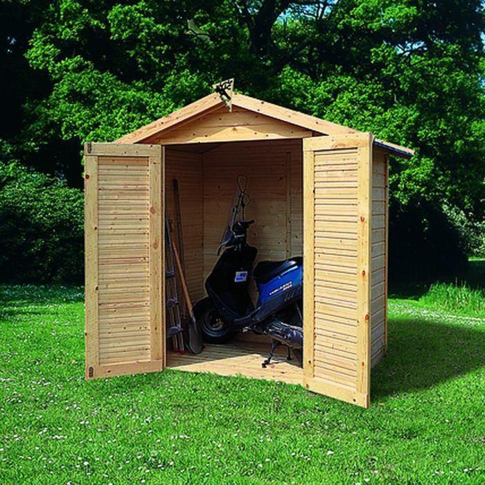 Abri de jardin bois m2 tobin 2 14mm achat vente for Achat abris de jardin
