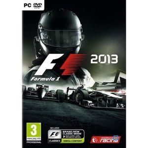 JEU PC F1 2013 Jeu PC