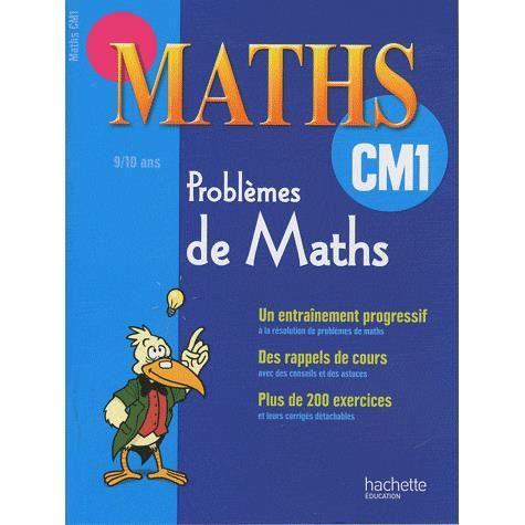 Problèmes de maths CM1 - Achat / Vente livre pas cher ...