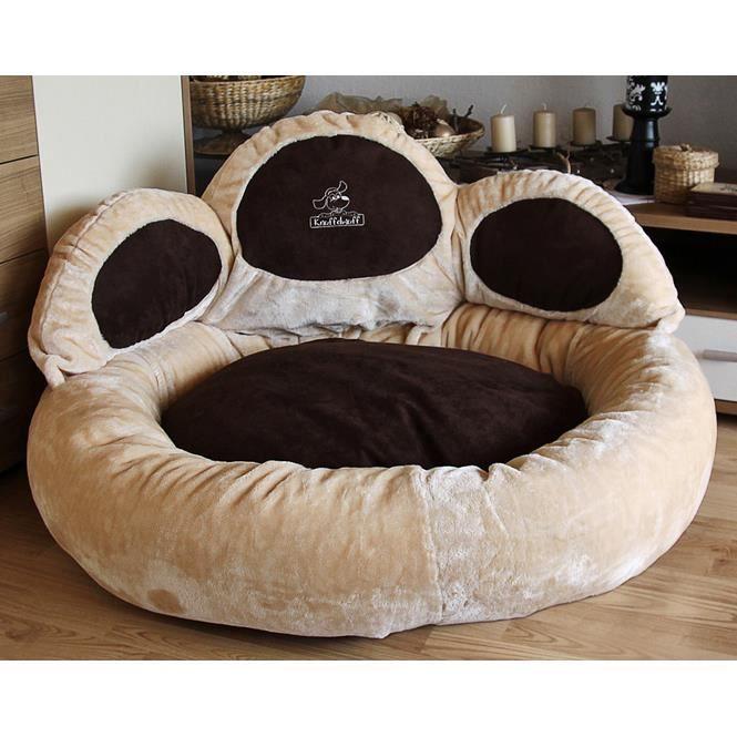 knuffelwuff luena le matelas pour chien patte xl 95cm beige super moelleux achat vente. Black Bedroom Furniture Sets. Home Design Ideas