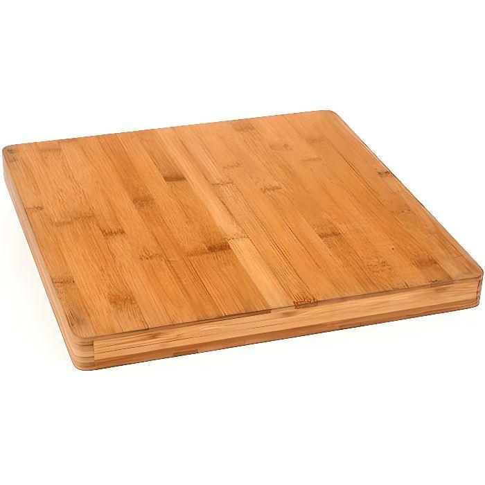 planche d couper carr e bambou achat vente planche a d couper planche d couper carr e. Black Bedroom Furniture Sets. Home Design Ideas