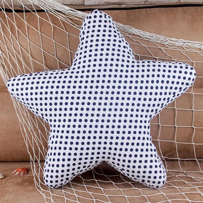 Etoile 2 mode d coration accessoires de maison coussin for Decoration accessoire maison
