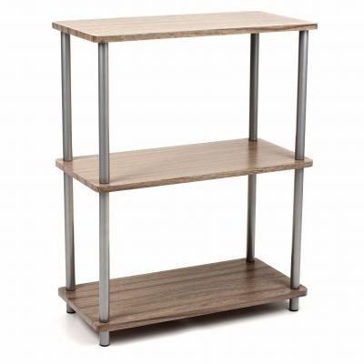 Etagere 3 niveaux grey achat vente meuble tag re - Etagere pour livre de cuisine ...