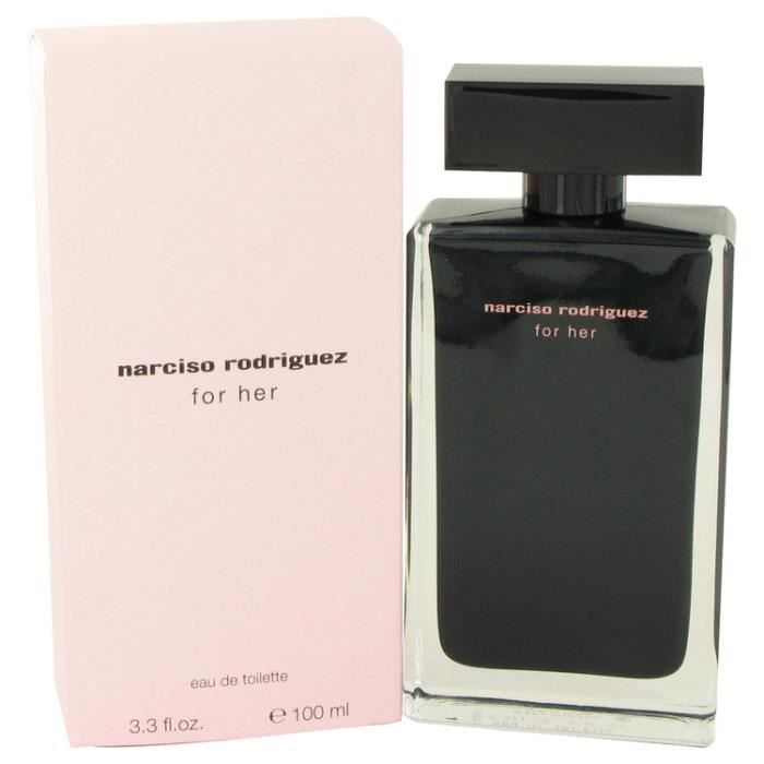narciso rodriguez for her edt femme 100 ml achat vente. Black Bedroom Furniture Sets. Home Design Ideas