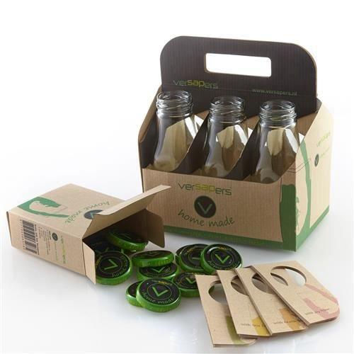 paquet cadeau 6 bouteilles de conservation versapers achat vente extracteur de jus les. Black Bedroom Furniture Sets. Home Design Ideas