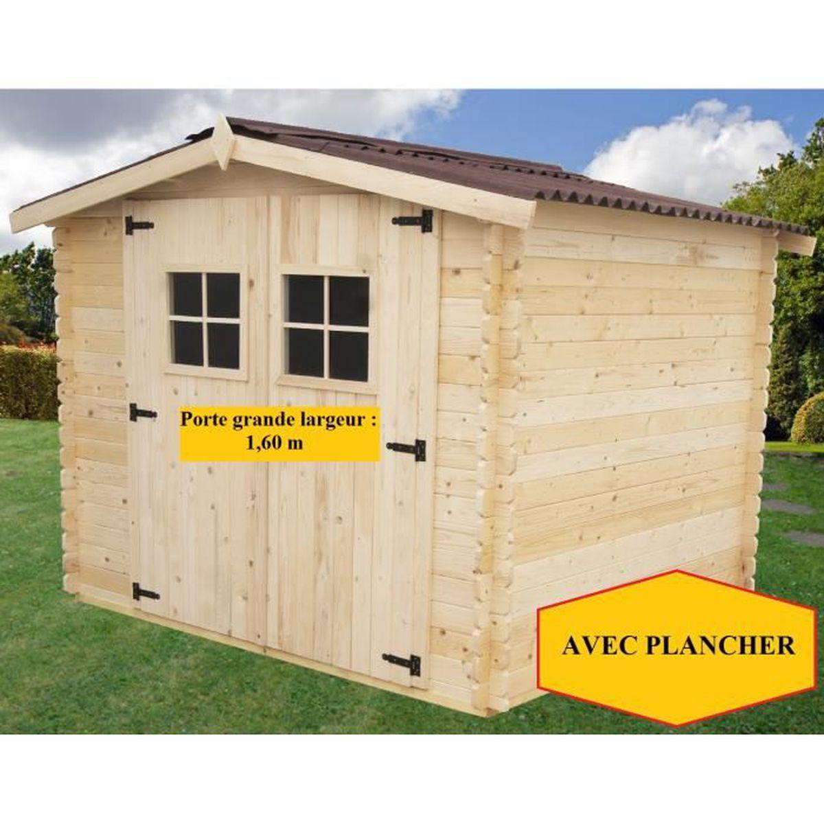 abri de jardin avec plancher 3x3 m p 28mm achat vente abri jardin chalet abri de jardin. Black Bedroom Furniture Sets. Home Design Ideas