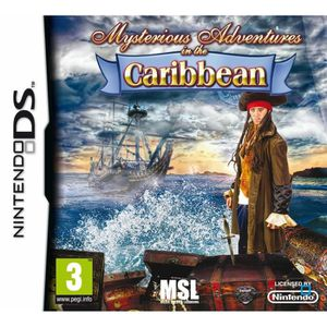 JEU DS - DSI MYSTERIOUS ADVENTURES IN THE CARRIBEAN / Jeu DS
