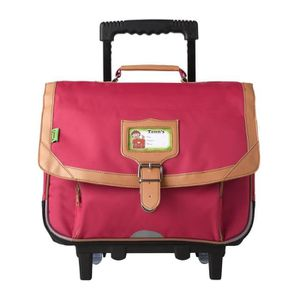 bagages r cartable fille a roulette
