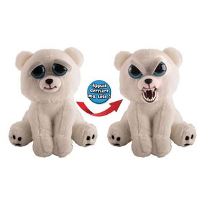 PELUCHE GOLIATH Feisty Pets Ours Polaire