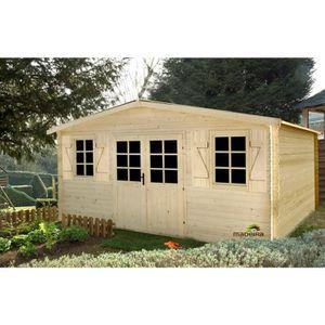 abris de jardin 20m2 achat vente abris de jardin 20m2 pas cher les soldes sur cdiscount. Black Bedroom Furniture Sets. Home Design Ideas