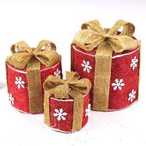 Boite cadeau noel deco achat vente boite cadeau noel deco pas cher cdis - Vente cadeau de noel ...