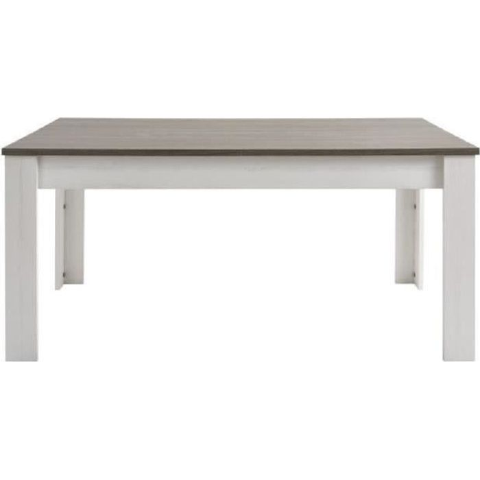 Marquis table manger extensible 4 6 personnes 170 for Table a manger 4 personnes extensible