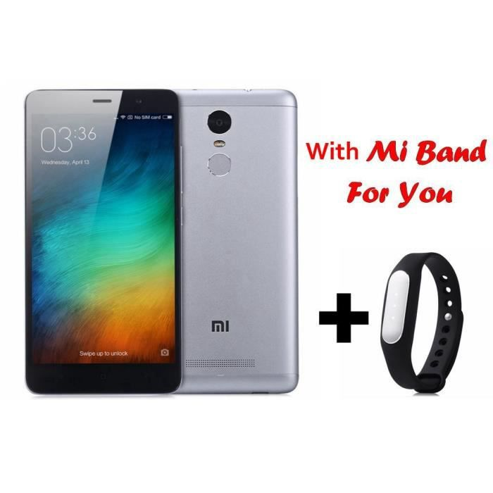 telephonie telephone mobile xiaomi redmi note  pro pouces g phablet andr f auc