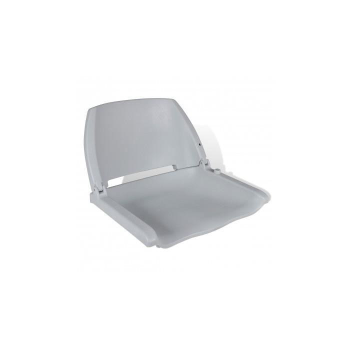 si ge pliant gris pour bateau sans coussin 41 x 51 x 48 cm. Black Bedroom Furniture Sets. Home Design Ideas