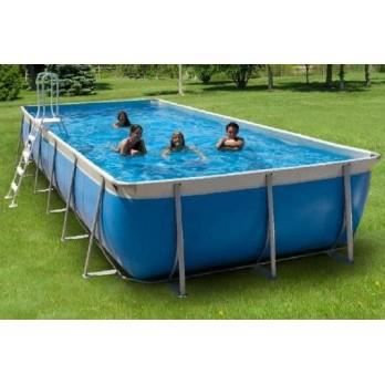 piscine hors sol tubulaire bayou 650 x 265 cm gris. Black Bedroom Furniture Sets. Home Design Ideas
