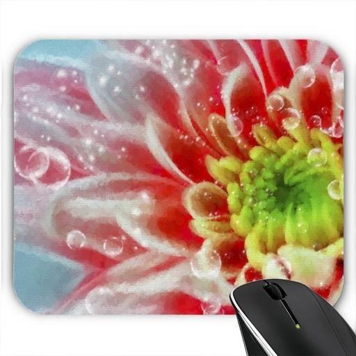 tapis de souris fleur avec des bulles prix pas cher. Black Bedroom Furniture Sets. Home Design Ideas