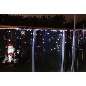 rideau lumineux pour l 39 ext rieur achat vente guirlande d 39 exterieure rideau lumineux pour l. Black Bedroom Furniture Sets. Home Design Ideas