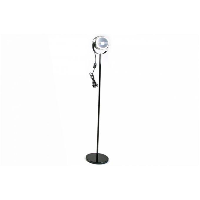 lampadaire projecteur design en m tal chrom no achat. Black Bedroom Furniture Sets. Home Design Ideas