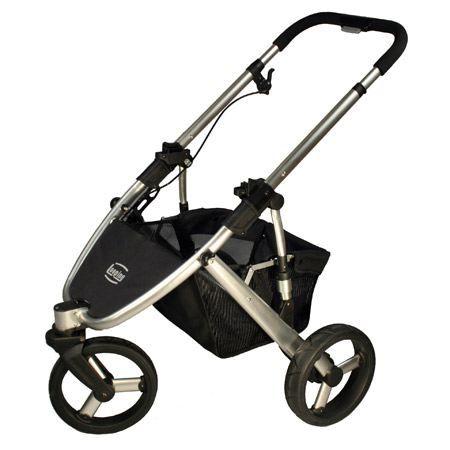 chassis de poussette 3 roues oakland iii noir achat. Black Bedroom Furniture Sets. Home Design Ideas