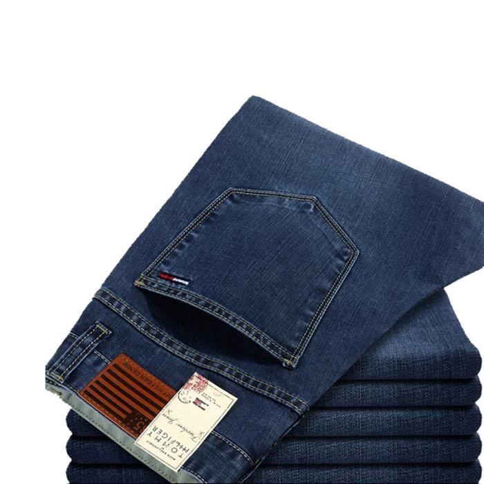 jeans de marque de mode hommes bleu achat vente jeans cdiscount. Black Bedroom Furniture Sets. Home Design Ideas