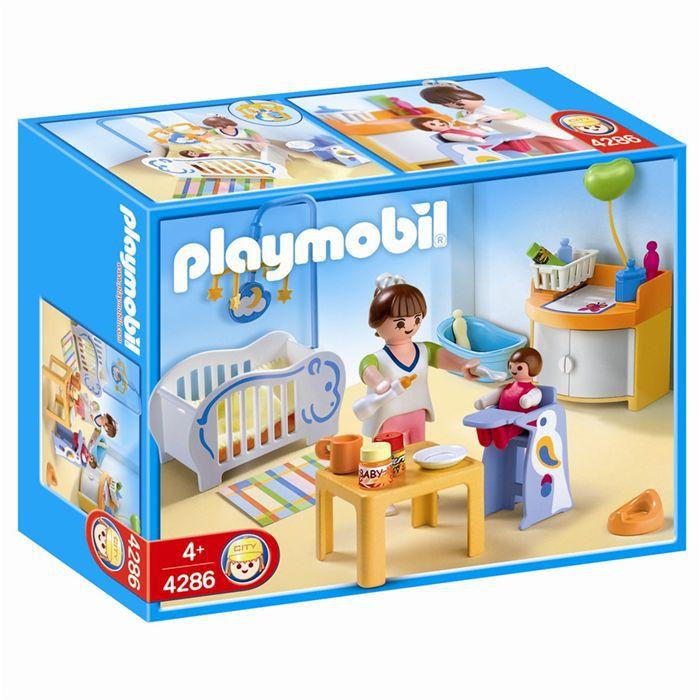 Playmobil 4286 chambre de b b achat vente univers for 7 a la maison personnage