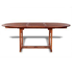 Magnifique vidaxl table de salle a manger d 39 exterieur for Table salle a manger jardin d ulysse